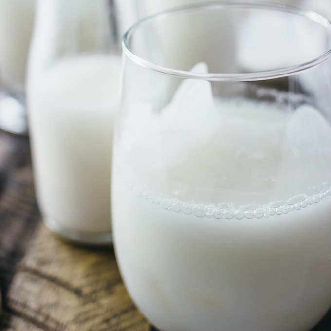 Horchata: cinnamon rice milk