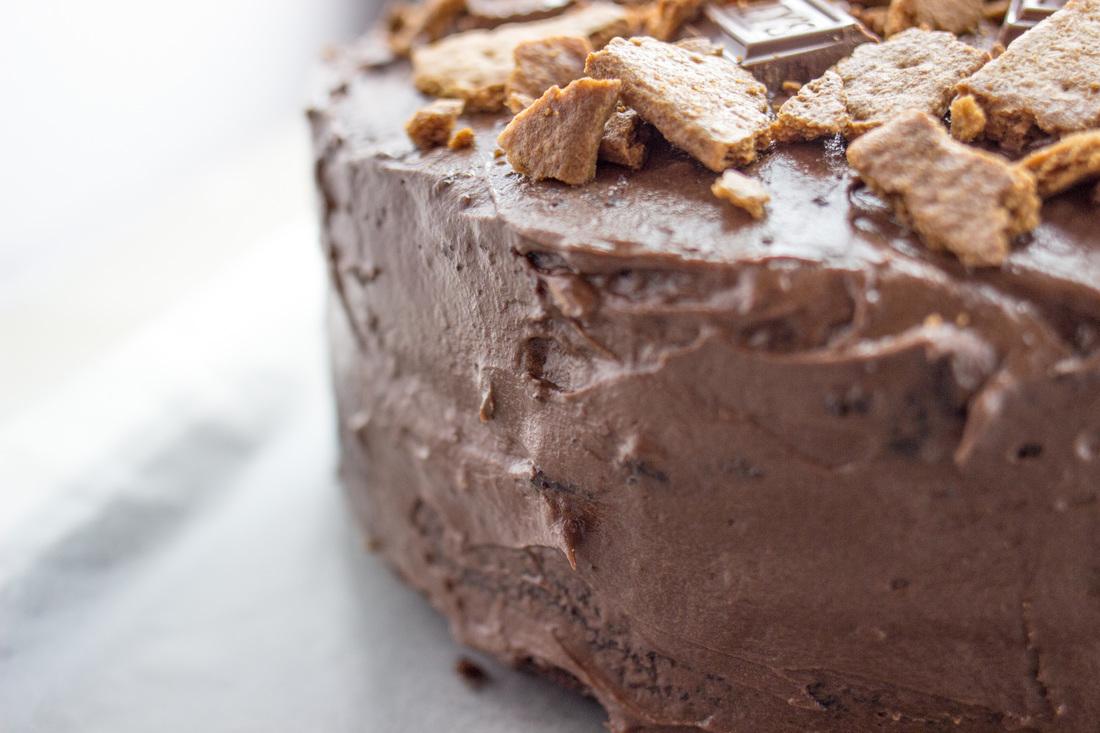 Side of cake
