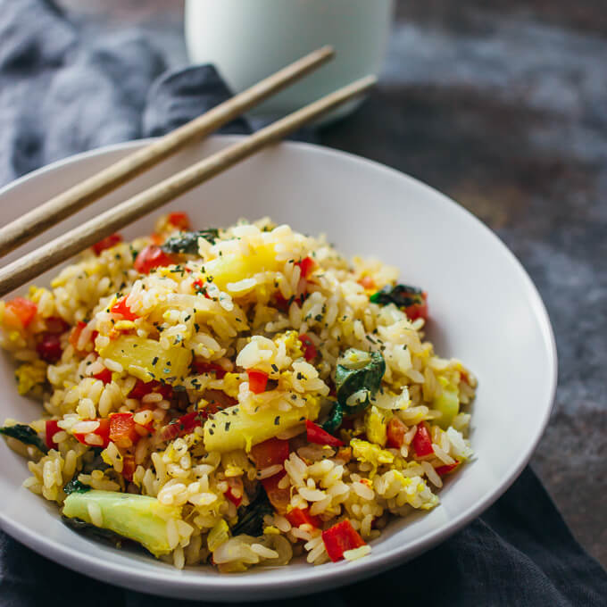my favourite food is fried rice Good food is worth a thousand words—sometimes more in my family recipe,  and kimchi fried rice was still my favorite thing to eat in the entire world.