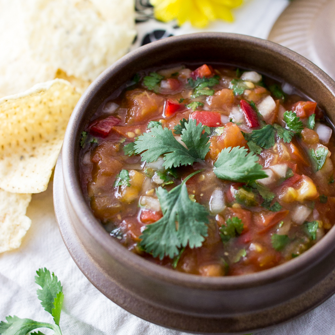 5-ingredient authentic Mexican salsa