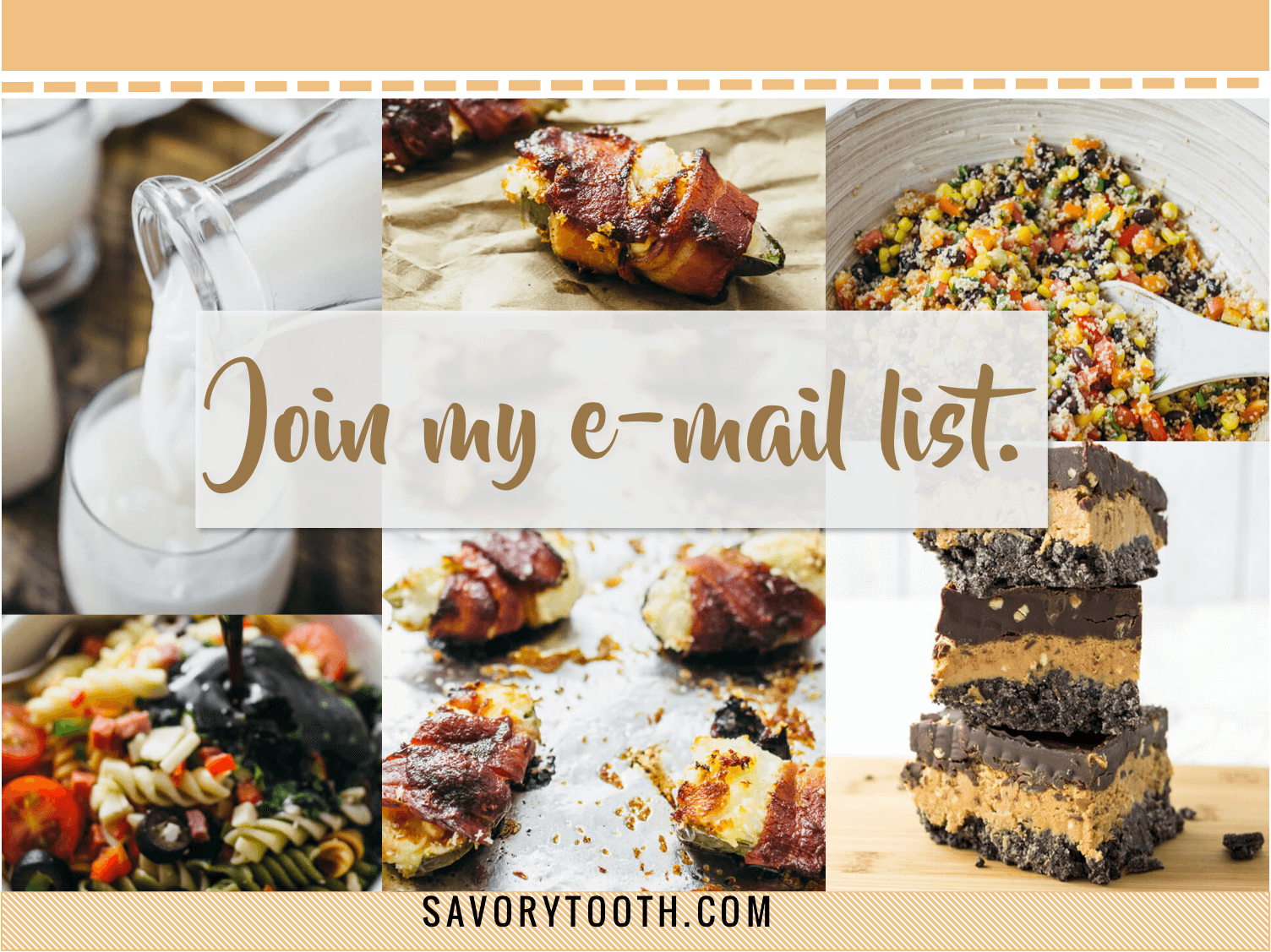 Subscribe to my email list