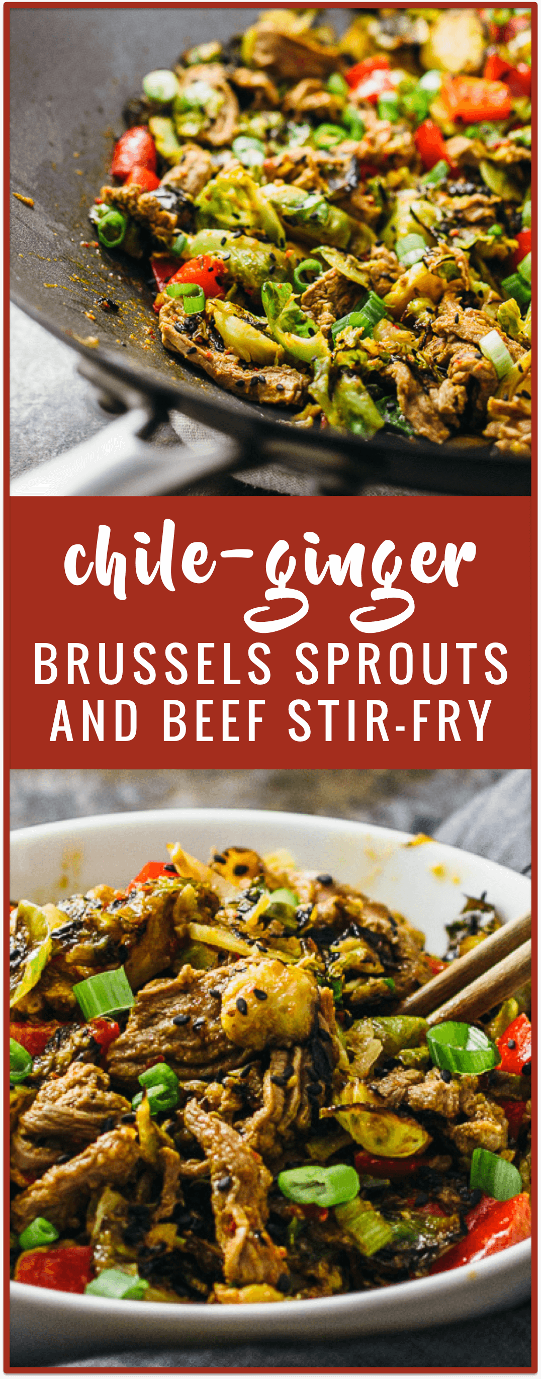 Stir-Fried Brussels Sprouts With Garlic And Chile Recipe — Dishmaps