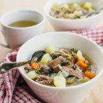 Icelandic lamb stew