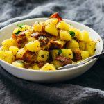 German potato salad with bacon