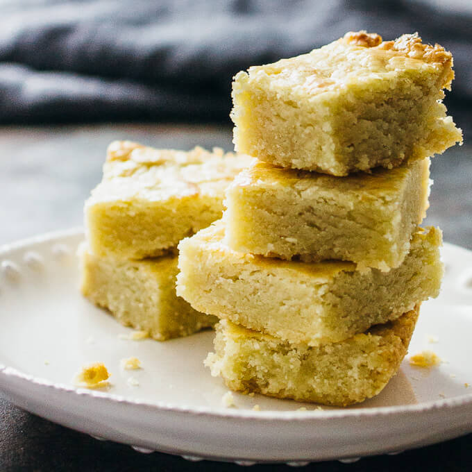 Shortbread butter bars - Savory Tooth
