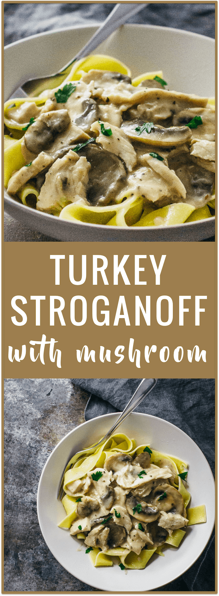 Turkey stroganoff with mushroom - Try this simple recipe for turkey ...