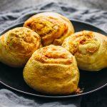 Bacon cheddar breakfast rolls