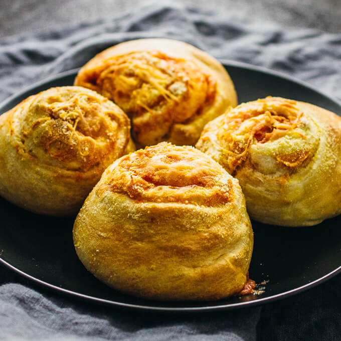 Bacon cheddar breakfast rolls