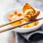 Super easy fried wontons