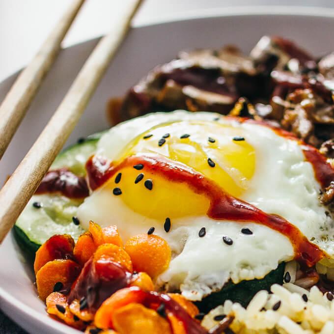 Bibimbap Korean Beef Bowl