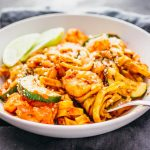 Easy cajun shrimp pasta