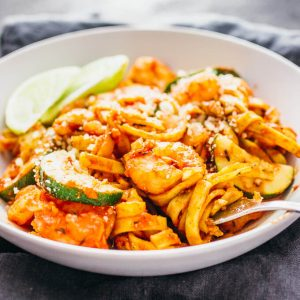 Easy cajun shrimp pasta
