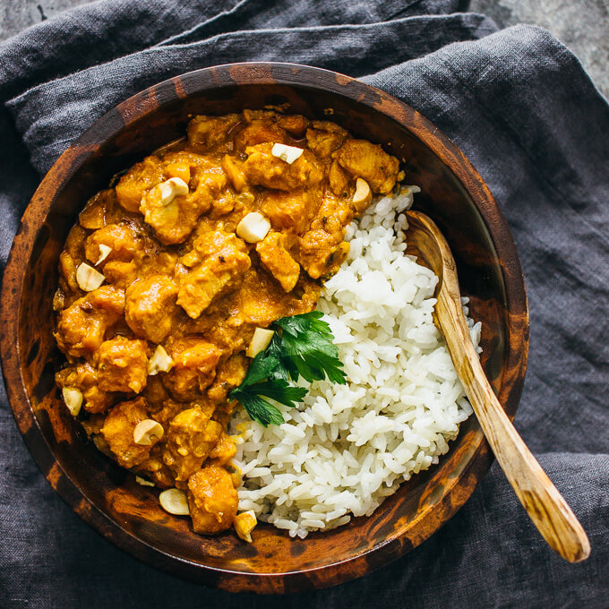 Chicken peanut stew with sweet potato - savory tooth