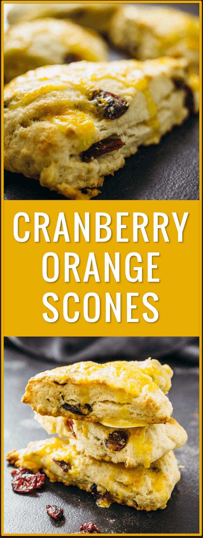best cranberry orange scones, healthy, fresh fruit, baked, orange zest, orange glaze, thanksgiving, christmas, breakfast, brunch, morning, pastry, dessert