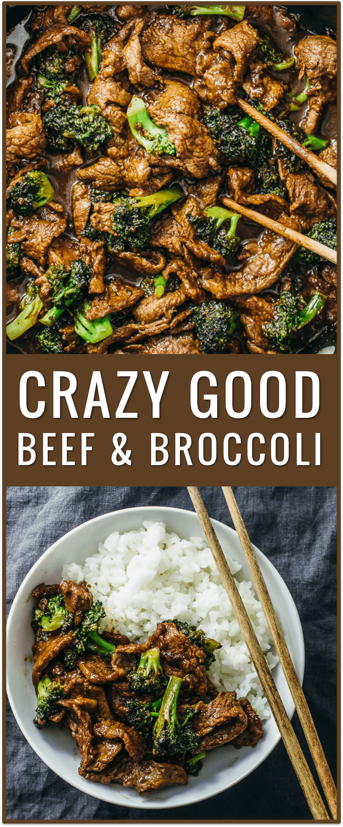easy beef and broccoli recipe, slow cooker, healthy, authentic Chinese recipe, simple, stir fry, lunch, dinner, steak, rice, crock pot, paleo, sauce, noodles
