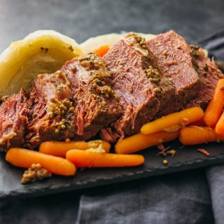 Instant Pot Corned Beef and Cabbage (Pressure Cooker)