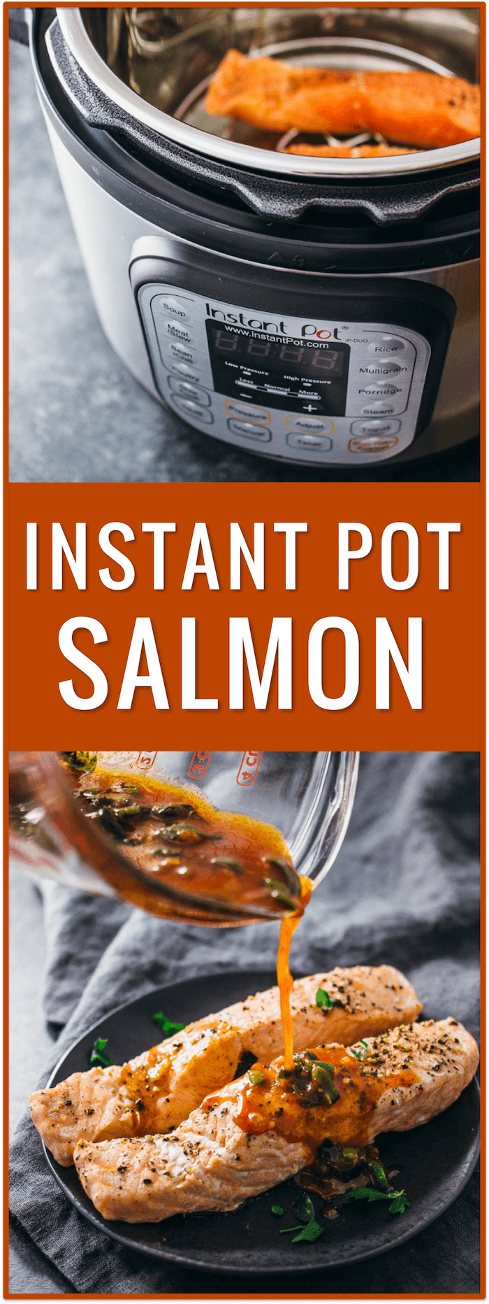 instant pot salmon, chili lime sauce, pressure cooker salmon, electric pressure cooker fish recipe, fish instructions, how long to pressure cook salmon, one pot salmon recipes, cooking salmon in instant pot