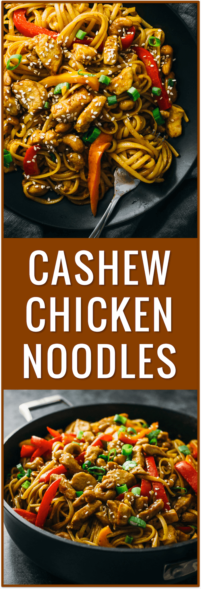 cashew chicken noodles, spicy, sauce, thai, recipe, easy, cashew crusted, healthy, asian, dinner, simple, fast, stir fry
