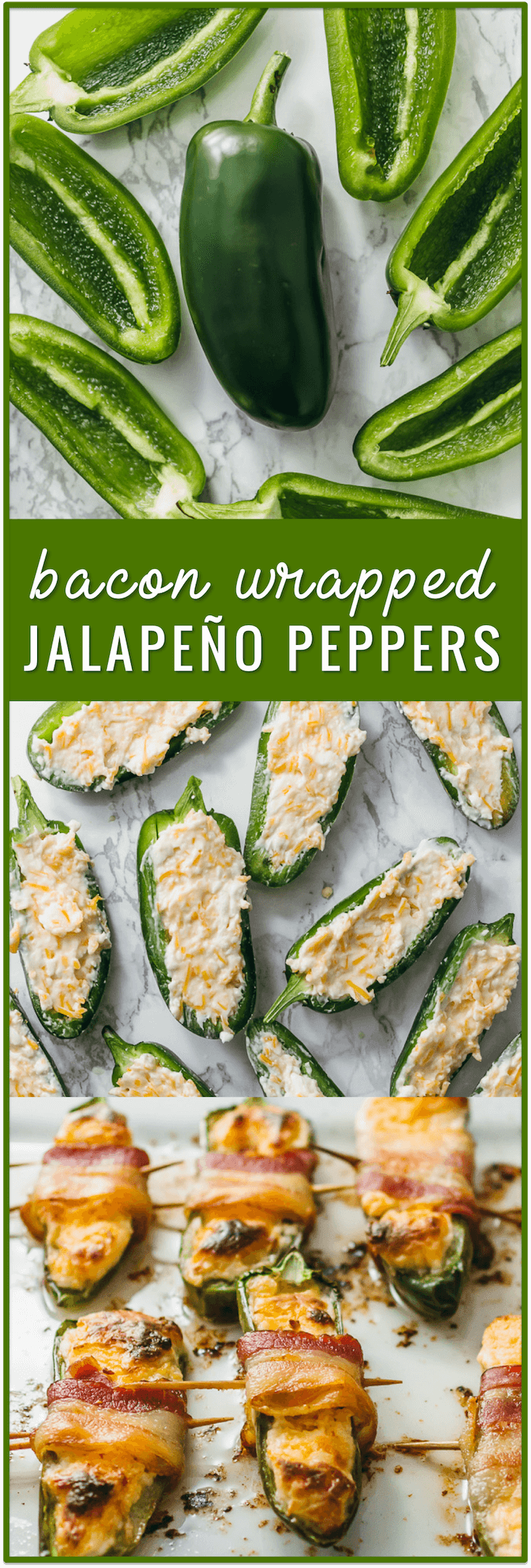 bacon wrapped jalapeño peppers, baked jalapeno poppers, cream cheese jalapeno poppers, fried jalapeno poppers, cream cheese stuffed jalapenos, recipe, grilled, dip, with sausage, easy, simple, fast, wrapped in bacon, biscuits, healthy, chicken