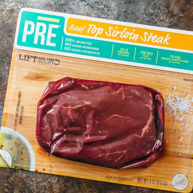 Crazy good hawaiian steak kabobs