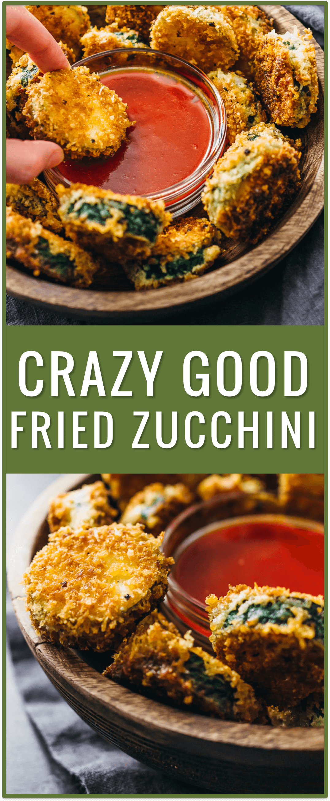 Crazy good fried zucchini, pan fried zucchini with flour, easy fried zucchini recipe, best fried zucchini dipping sauce, oven fried zucchini, zucchini sticks, families, zucchini chips, deep fried, batter, healthy, skillet