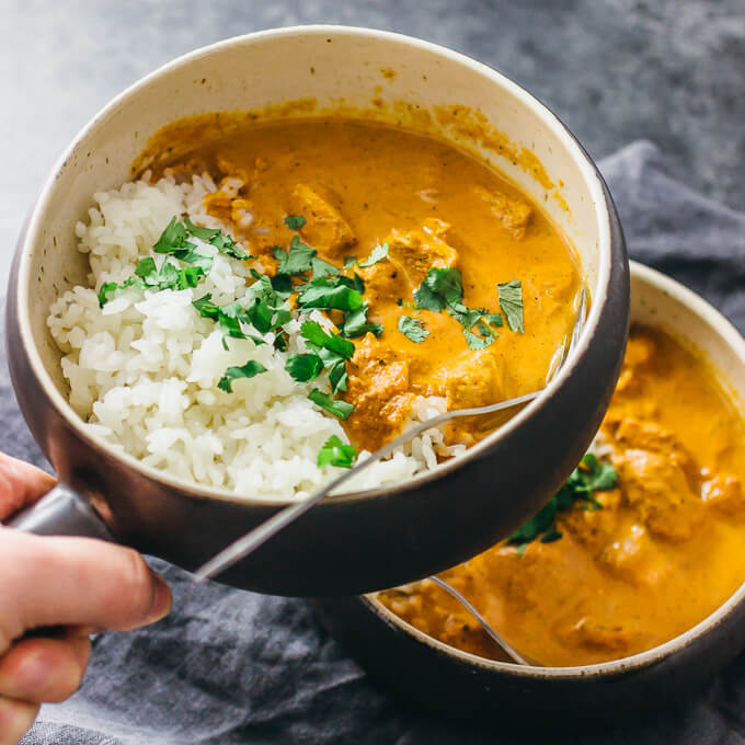 Instant pot chicken tikka masala pressure cooker savory tooth instant pot chicken tikka masala forumfinder Image collections