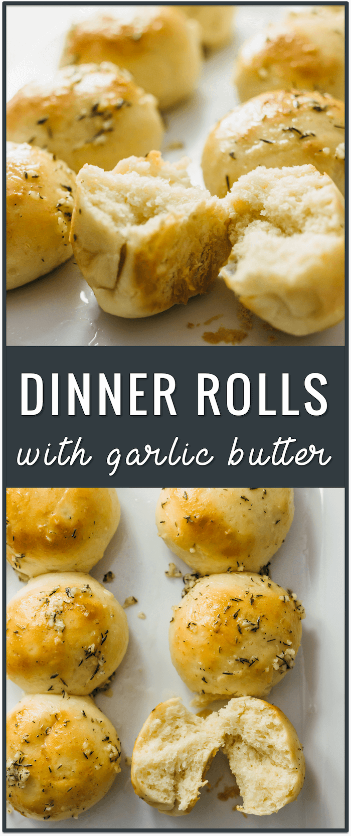 Small batch dinner rolls with garlic butter, homemade dinner rolls, easy dinner rolls, quick dinner rolls, sweet dinner rolls, best dinner rolls, soft dinner rolls, fluffy dinner rolls, healthy dinner rolls, small loaf bread recipe, dinner rolls for two, one hour, make ahead, bread machine