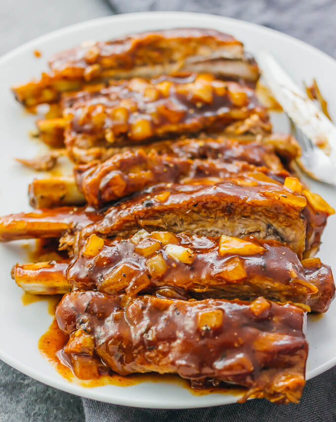 Step By Step Barbecue Ribs In The Instant Pot Savory Tooth