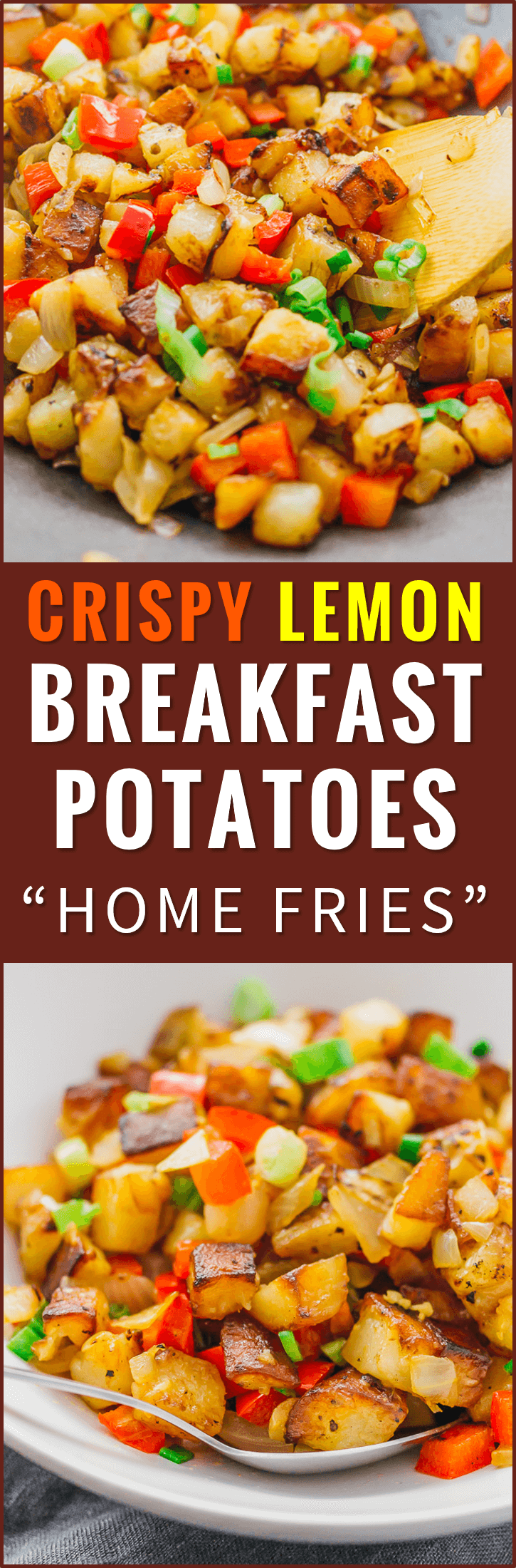 These skillet breakfast potatoes or diner-style