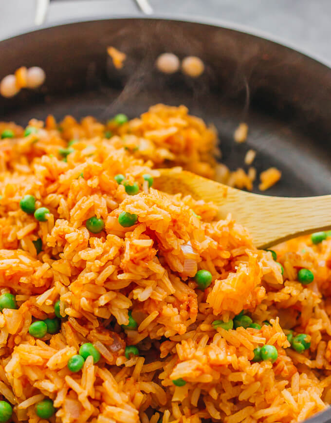 easy stovetop mexican rice restaurant style savory tooth