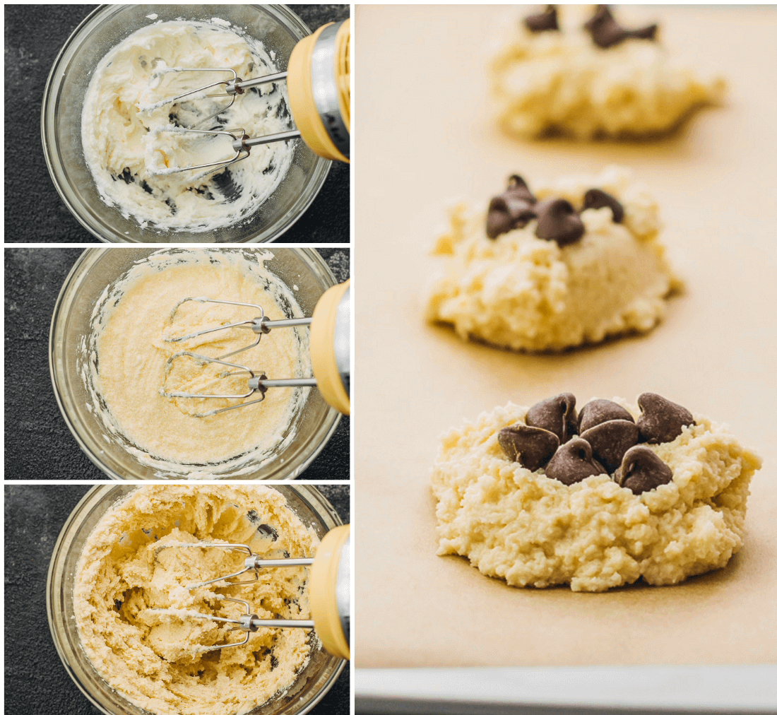 These low carb chocolate chip cookies are healthy, keto friendly, and incredibly easy to make.