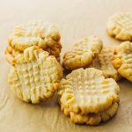 Low carb butter cookies with almond flour
