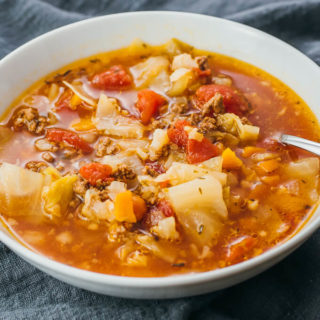 Instant Pot Cabbage Soup With Beef (Pressure Cooker)