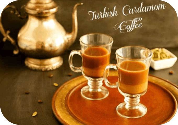 turkish cardamom coffee