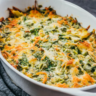 Crazy Good Spinach Artichoke Dip