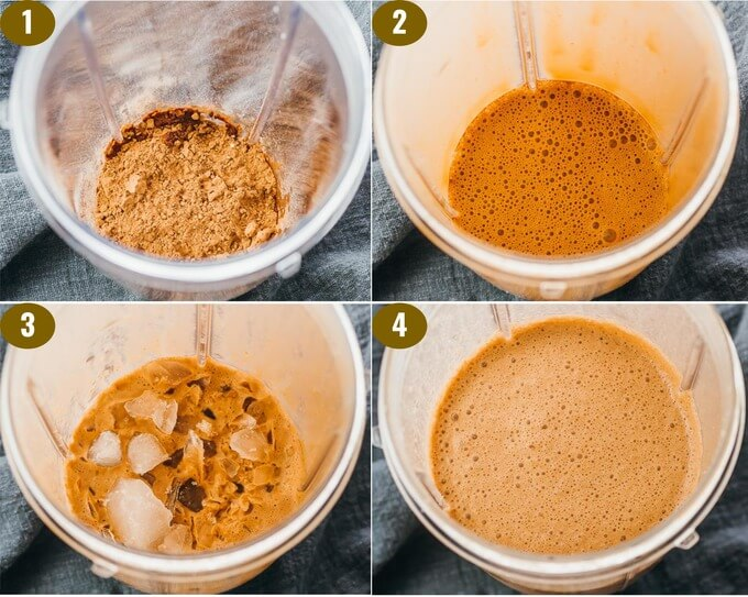 step by step on how to make keto shake