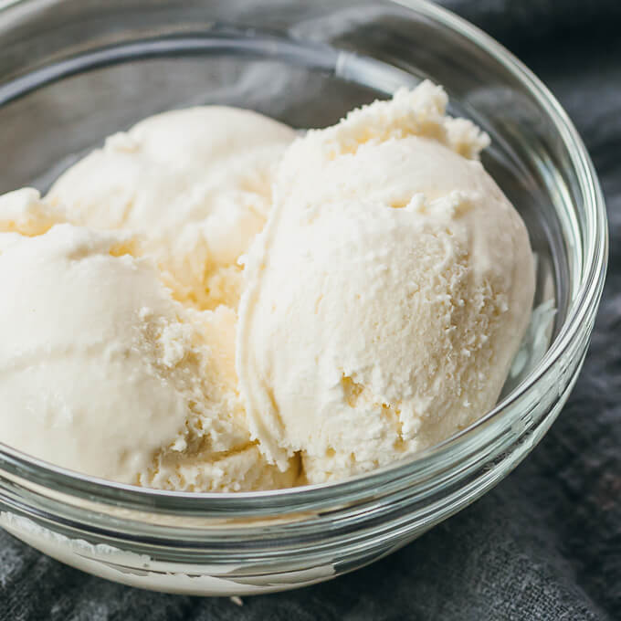 easy and simple keto ice cream that's the best and no churn