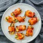 Bacon wrapped asparagus bites