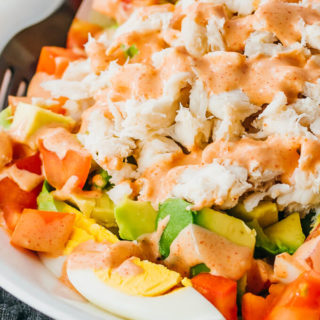 Crab Louie (Seafood Salad Recipe)