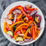 keto roasted vegetables side dish