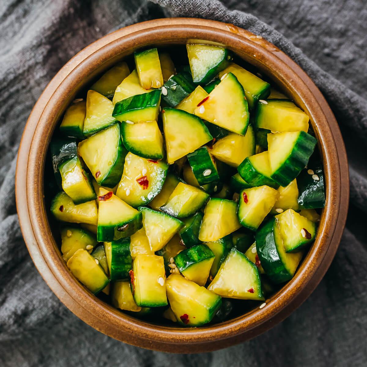 Asian Cucumber Salad Recipe Low Carb