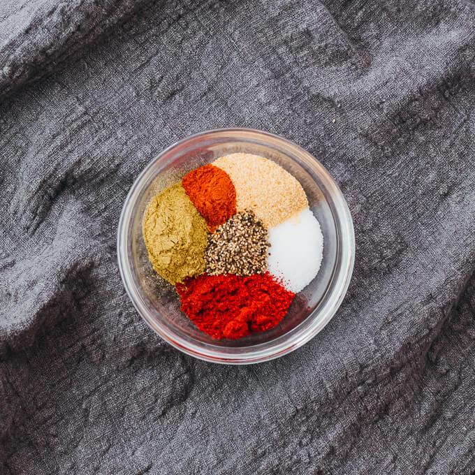 spices for making jambalaya